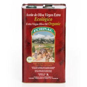 Lata de 3 litros de aceite de Oliva Virgen Extra Ecológico Echinac