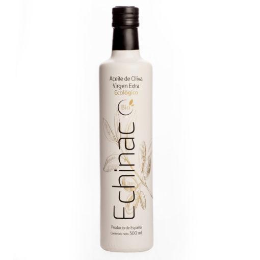Botella premium de aceite de Oliva Virgen Extra Ecológico Echinac