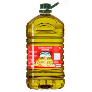 Aceite de Oliva Echioliva PET 5 litros de Aceites Echinac