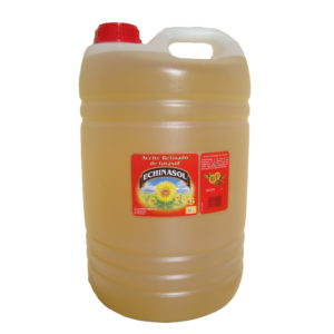 Aceite de Girasol Refinado Echinasol Polietileno 25L de Aceites Echinac