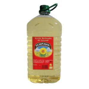 Aceite de Girasol Refinado Echinasol 5L de Aceites Echinac