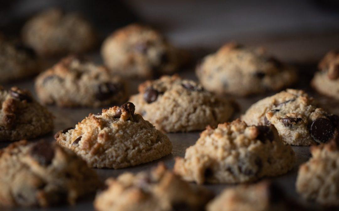 Receta de cookies clásica con pepitas de chocolate y AOVE