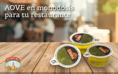 Las ventajas de las monodosis de aceite de Oliva para tu restaurante