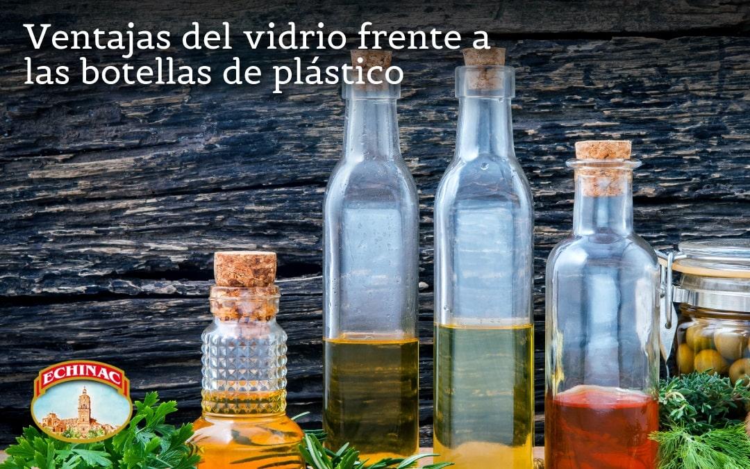 Ventajas del vidrio frente a los envases de plástico para el aceite de Oliva