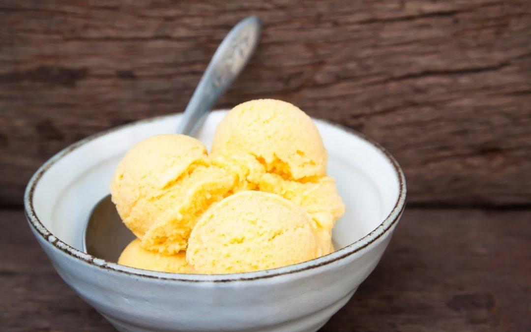 Receta de helado de aceite de Oliva